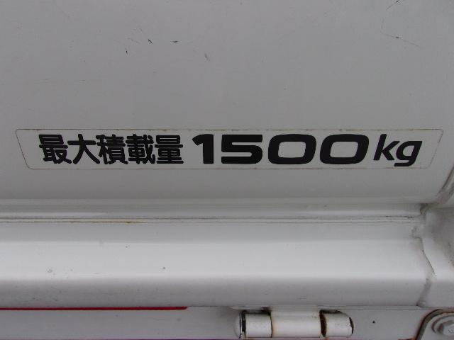 最大積載量1500kgです。