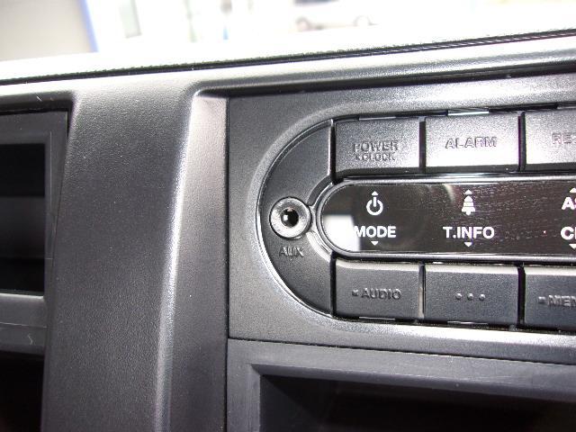 AUX付AM/FMラジオです。