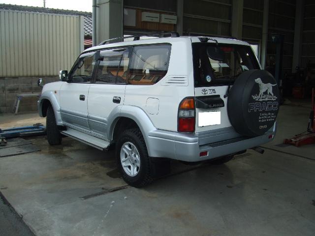 トヨタ ランドクルーザープラド TXリミテッド 4WD 寒冷地仕様