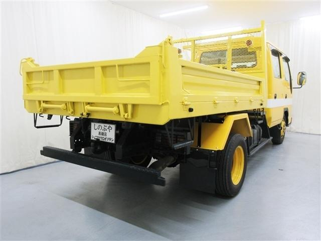 2tダブルキャブダンプ 道路維持作業車仕様 ウインチ 5MT(4枚目)