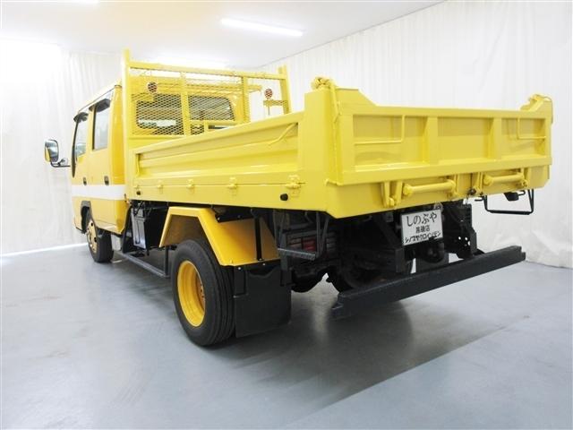 2tダブルキャブダンプ 道路維持作業車仕様 ウインチ 5MT(5枚目)