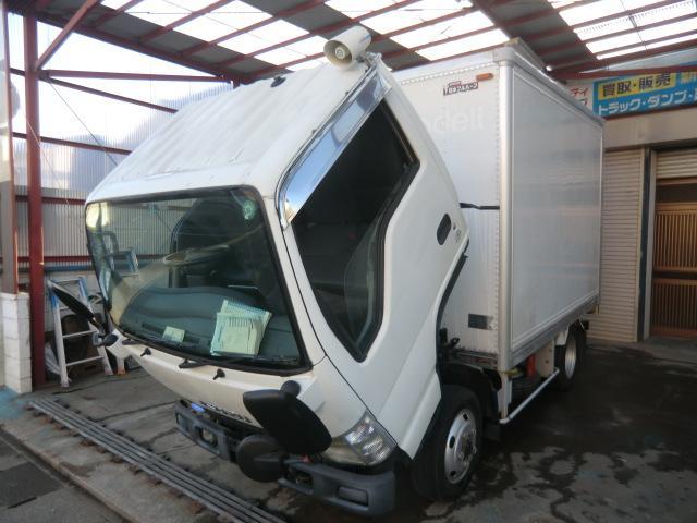 いすゞ エルフトラック アルミバン フルフラットロー1.5トン