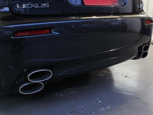 レクサス IS F ベースグレード 左ハンドル 純正HDDナビ サンルーフ 黒革