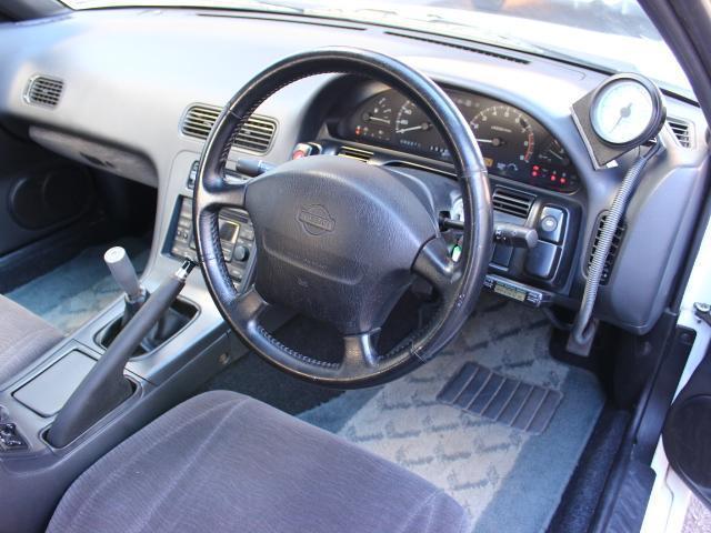 日産 180SX タイプX 5MT ワンオーナー フジツボマフラー