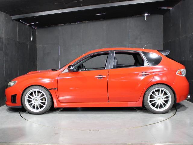 WRX STI Aライン B型 クスコ車高調 FGKマフラー ケンウッドメモリーナビ フルセグ ハイレゾ ETC D席レカロフルバケシート STIフロントリップスポイラー 社外18AW クルコン オートライト スマートキー(45枚目)