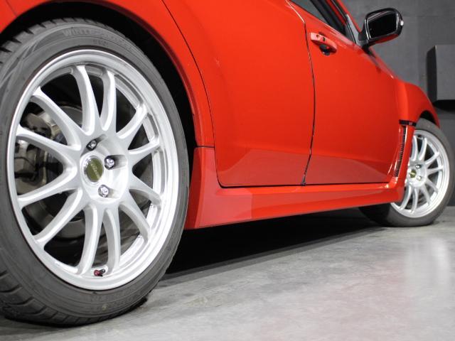 WRX STI Aライン B型 クスコ車高調 FGKマフラー ケンウッドメモリーナビ フルセグ ハイレゾ ETC D席レカロフルバケシート STIフロントリップスポイラー 社外18AW クルコン オートライト スマートキー(70枚目)