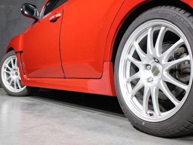 WRX STI Aライン B型 クスコ車高調 FGKマフラー ケンウッドメモリーナビ フルセグ ハイレゾ ETC D席レカロフルバケシート STIフロントリップスポイラー 社外18AW クルコン オートライト スマートキー(71枚目)