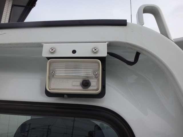 ワーキングランプ★荷台を明るく照らし、夜間の作業などに役立ちます。