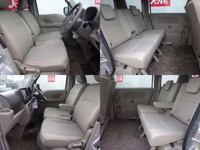 前席での移動がスムースなウォークスルー。前席のフロアに障害物がなく足元に広いスペースを確保。運転席、助手席間を自由に移動できるので、ドライバーが助手席ドアから乗り降りする際にもスムースに移動できます。