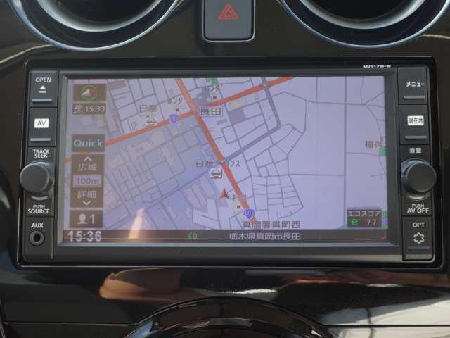 純正メモリーナビ(MJ117D-W) CD再生 フルセグTV Bluetooth対応★携帯電話にダウンロードした音楽が車内でも楽しめます。ハンズフリー通話も可能です!