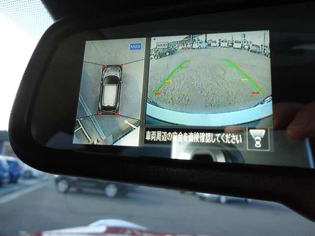 15RX Vセレクション 純正メモリーナビ 衝突被害軽減ブレーキ 全周囲カメラ アイドリングストップ キセノンヘッドライト インテリジェントキー プライバシーガラス オートエアコン 17インチAW(4枚目)