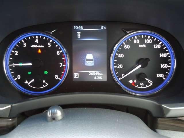 250ハイウェイスターS 4WD 8人乗り レンタアップ 純正メモリーナビ 衝突被害軽減ブレーキ&踏み間違い防止装置 バックカメラ ハイビームアシスト LEDヘッドライト オートエアコン クルーズコントロール ETC 18インチAW ワンオーナー(11枚目)