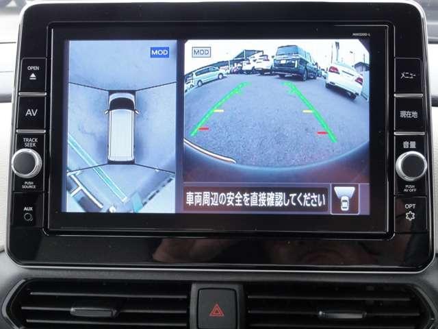 660X 純正デカナビ エマブレ 当社社用車使用 キーフリー ナビTV アラウンドビュー スマートキー ワンオーナー バックカメラ 衝突軽減ブレーキ(3枚目)