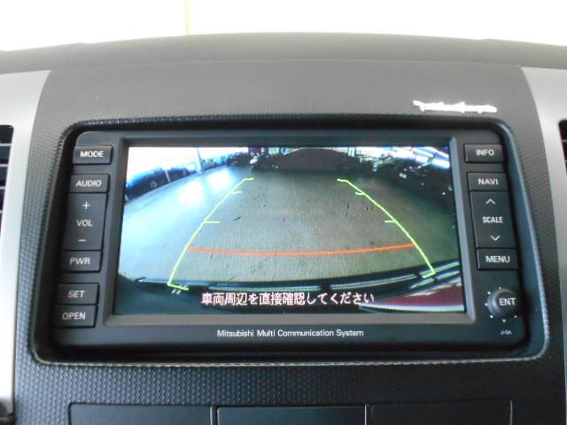 三菱 アウトランダー 24G HDDナビ地デジ 後席モニター Bカメラ ETC