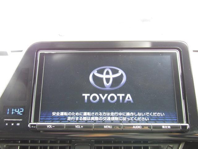 トヨタ C-HR G-T 9型ナビ地デジ 茶半革 セーフティセンス
