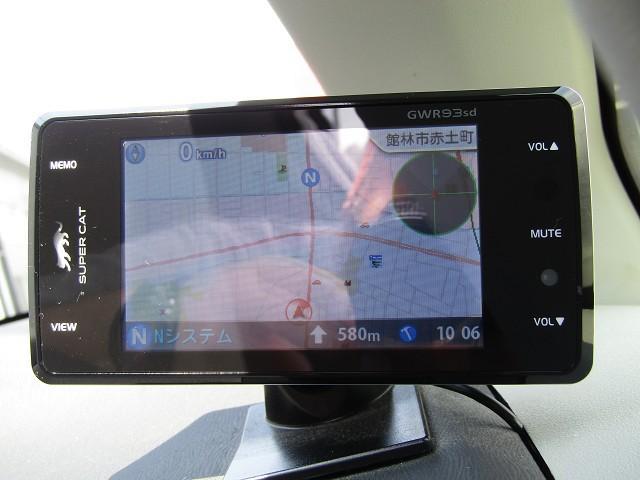 GPSレーダー付きです。安全運転でお願い致します♪