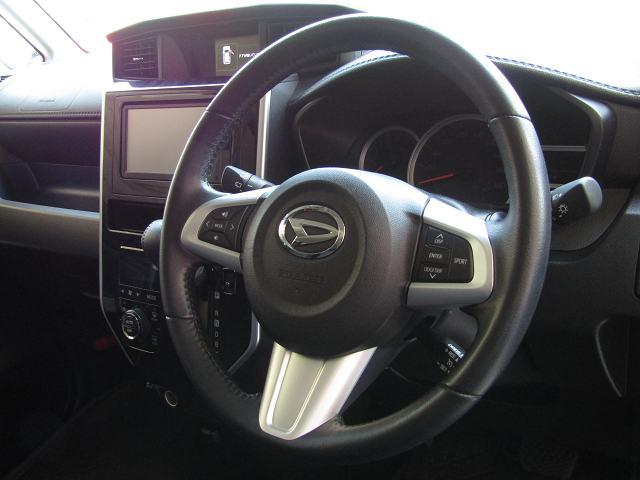 カスタムG ターボ SAII SDナビNSZT-W62G DVD再生 ブルートゥース 音楽サーバー オートライト パノラマモニター オートクルーズ I-STOP LEDヘッドライト フォグランプ 純正15インチAW 両側電動ドア(52枚目)