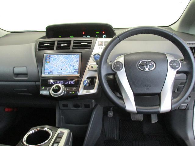 トヨタ プリウスアルファ Sツーリングセレクション  ナビ・バックモニター・ETC