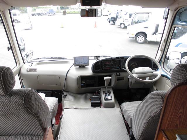 トヨタ コースター トヨタ キャンピングサルーン バスコン