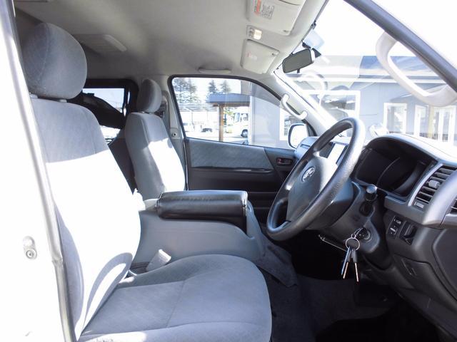 トヨタ レジアスエースバン 5ドアバン スーパーGL 車中泊