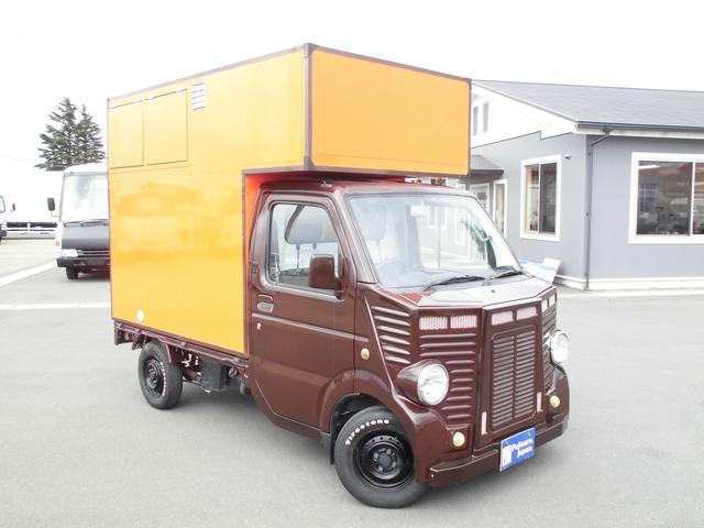 スズキ キャリイトラック 移動販売車 ケータリングカー カスタムフェイス