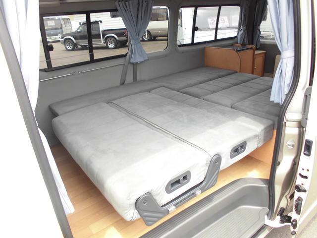 トヨタ ハイエースバン キャンピングカー バンテック ノルディック4WD
