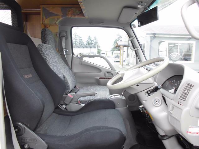 トヨタ カムロード キャンピングカー ナッツRVミラージュ 適合ディーゼル
