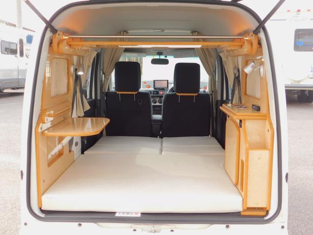 FOCS Gt2 リノタクミ 厳選中古車をベースに当社オリジナル家具を新規取り付け致しました! 5ナンバー軽自動車登録 4名乗車2名就寝 フルタイム4WD