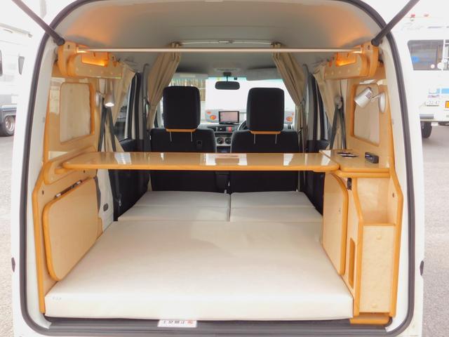 通勤の足などで使いながら車中泊ユースも可能!5ナンバーベースで乗用車装備充実