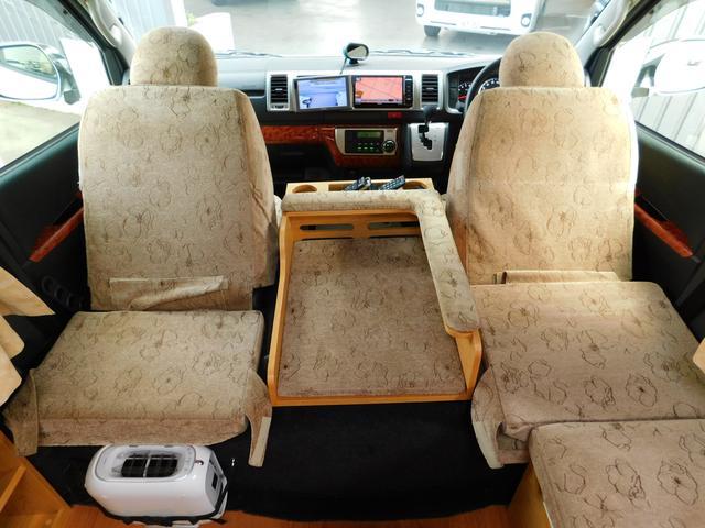 キャンピングカー カトーモーターK580 4WD(14枚目)