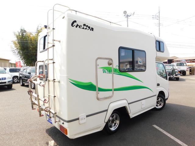 キャンピングカー ナッツRV クレソンW ディーゼル 4WD(20枚目)