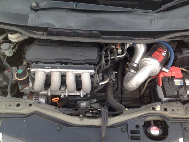 ホンダ フィット RS 車高調 エアクリ マフラー ワンオーナー