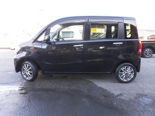 ダイハツ タントエグゼ X 外アルミ 新品タイヤ交換済 新品社外レザー調シートカバー