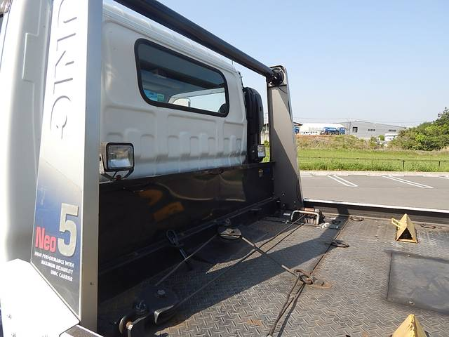 いすゞ エルフトラック ワイドロング 積載車 ユニックUC35 リモコン付