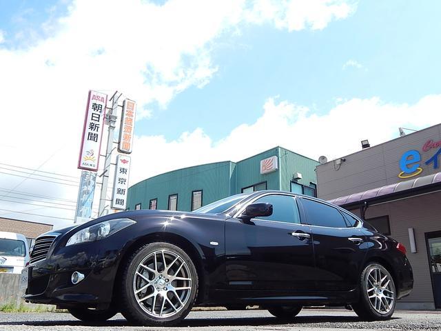 日産 フーガ 370GT タイプS 本革シート 純正HDDナビ 地デジ