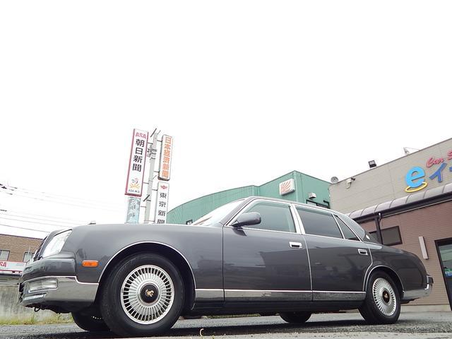 トヨタ センチュリー 標準仕様車 デュアルEMVパッケージ 後期ライト 本革シート