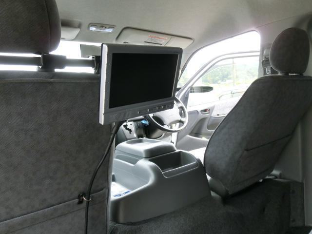 トヨタ ハイエースワゴン GL 純正HDDナビ バックモニター ETC