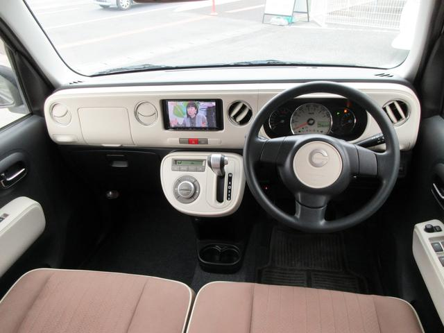 ダイハツ ミラココア Xスペシャルコーデ タイヤ保証付き ワンオーナーSDナビTV