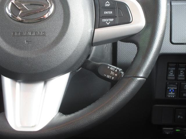 高速などでとても便利なクルーズコントロール付き!これで運転疲れ知らず♪