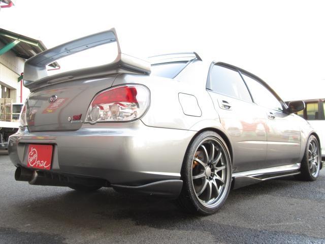 スバル インプレッサ WRX STi RAYS19インチAW 社外エアロ 車高調