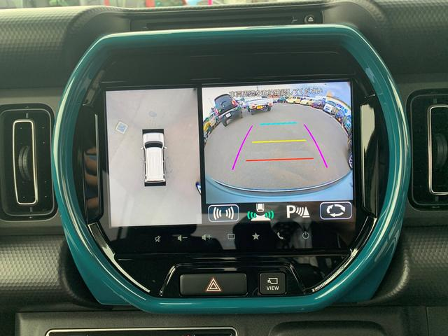 HYBRID X 全方位カメラ付き9インチナビ 新車保証継承(19枚目)
