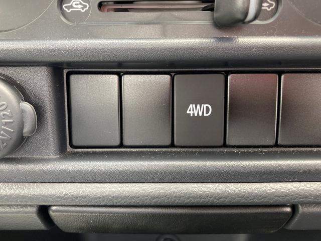 KCエアコンパワステ 4型  ラジオ パートタイム4WD(16枚目)