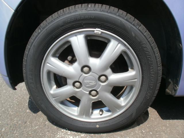 ダイハツ タント X キーレス タイミングベルト交換済 フロント新品タイヤ