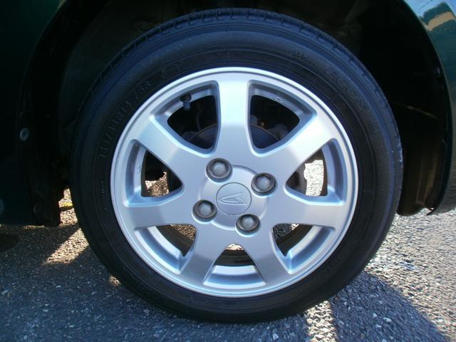 純正14インチアルミ!新品タイヤに交換してお渡し致します!