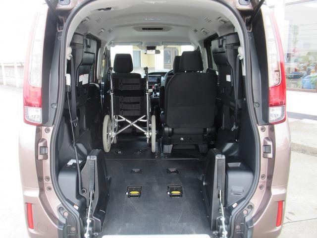 トヨタ ノア ウェルキャブスロープI車いす1基固定 トヨタセーフティセンス