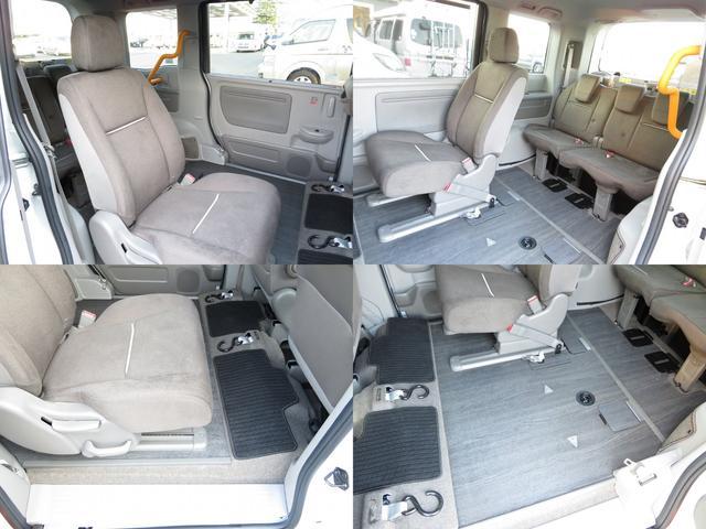 福祉車両 G車いす仕様車2&3列目車椅子2基固定 乗車計7名(15枚目)