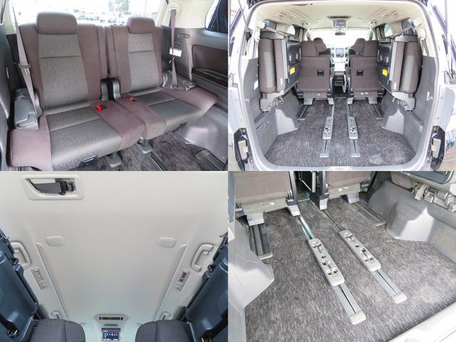 サードシートを展開していても荷物を積めるスペースがしっかりあります!大きな荷物はシートを格納すれば大きなスペースが確保できます!リア電動パワーゲート付き!