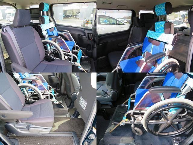車椅子1基固定!電動ウインチ!電動固定付!セカンドシート固定タイプで車椅子の方が3列目と違い孤立致しません。車椅子乗車後に3列目もお使いいただけます!7名乗車!