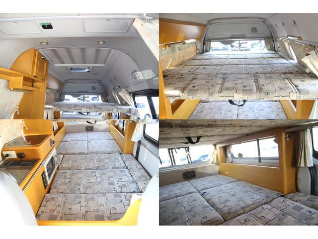 トヨタ ハイエースバン ハタナカ製キャンピング FFヒータ 1500W 2段ベッド