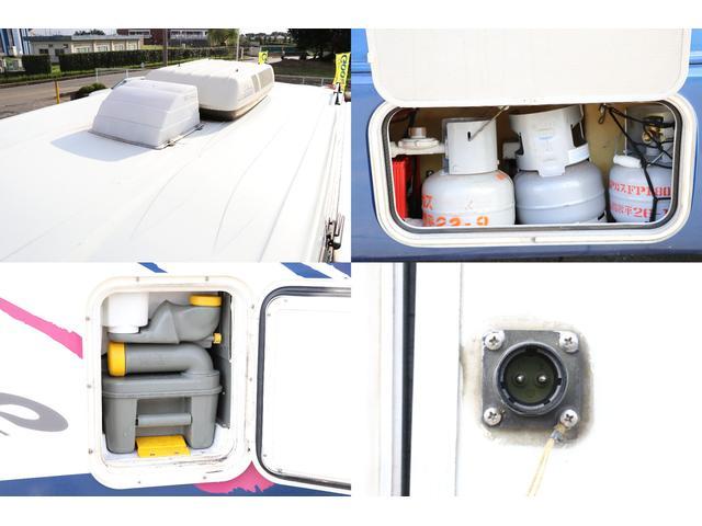 トヨタ ハイエーストラック ロータスRV製 イースター ルーフAC FF トイレシャワー